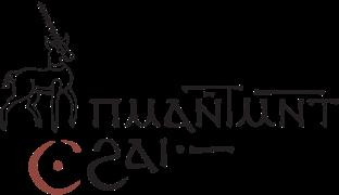 Coptic Scriptorium logo, reading ⲡⲙⲁ ⲛ̅ⲧⲙⲛ̅ⲧⲥϩⲁⲓ in Coptic
